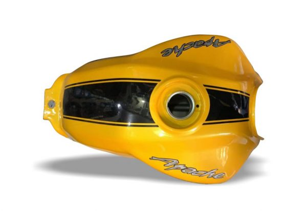 باک موتور اپاچی180 قدیم زرد